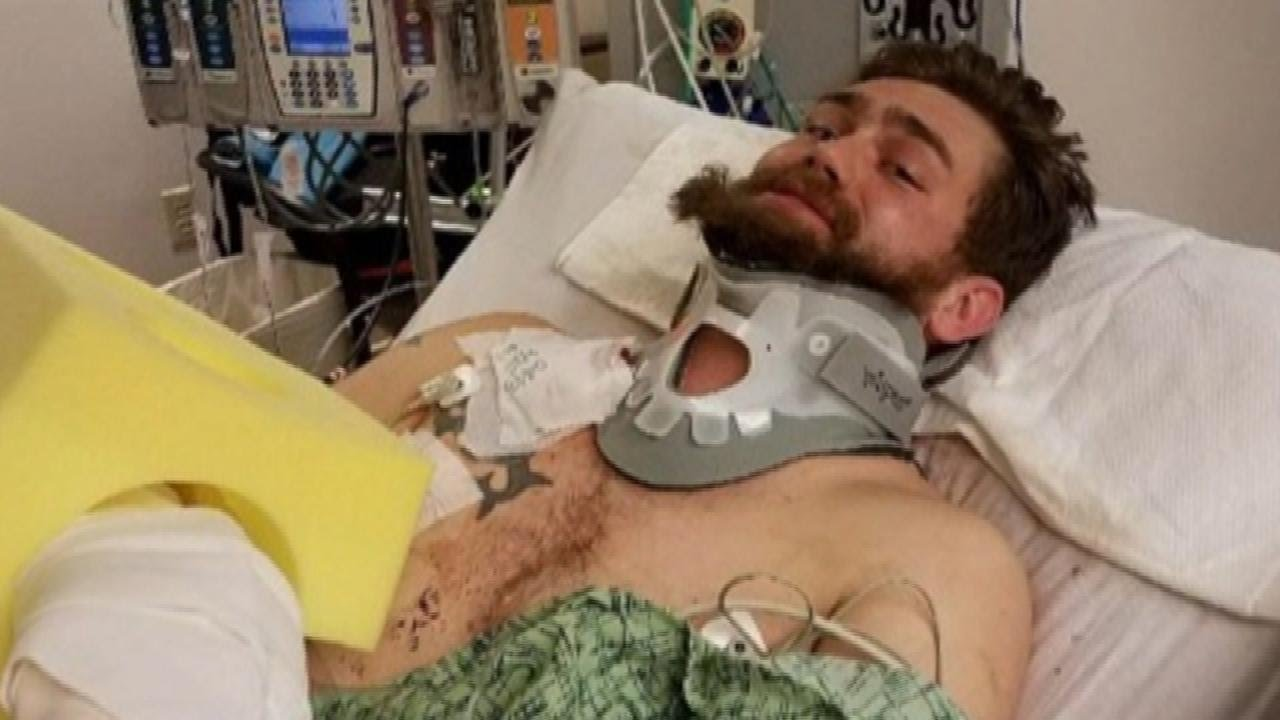 Exclusive: Hero Who Took a Bullet for a Stranger Shares His Story