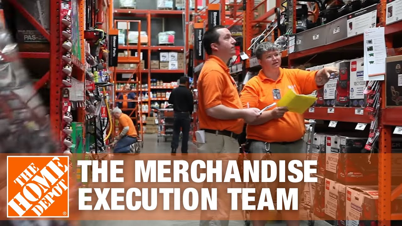 The Merchandise Execution Team - The Home Depot - YouTube
