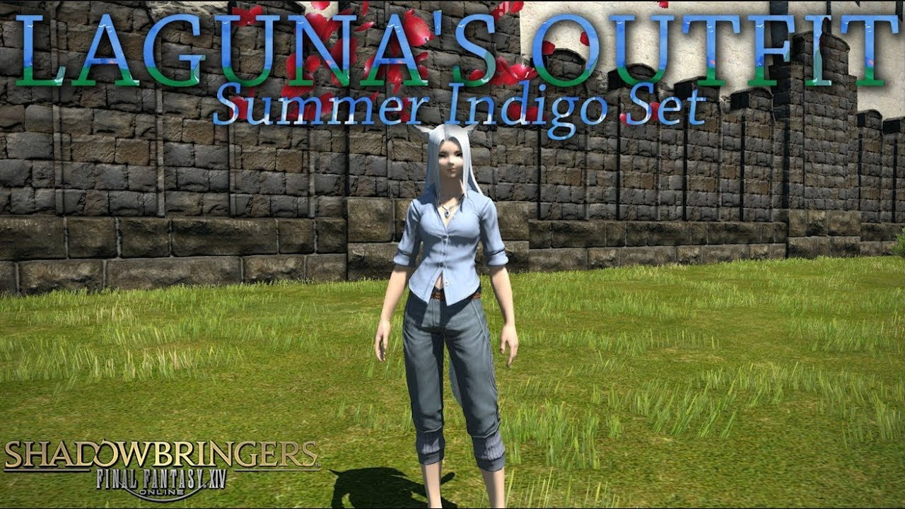 FFXIV: Summer Indigo Set / Laguna Outfit