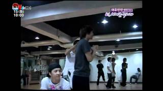 vietsub 360kpop mblaq practices dance with rain bi from kyy a team clouds