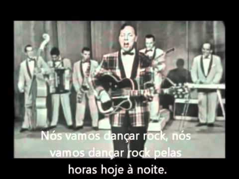 Bill Haley - Rock Around The Clock   (tradução)