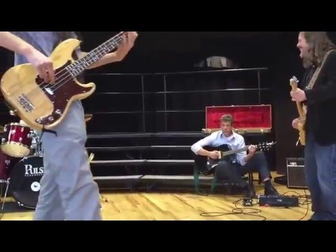 Oliver Jamming with Jason Crosby at Boulder Country Day 3/10