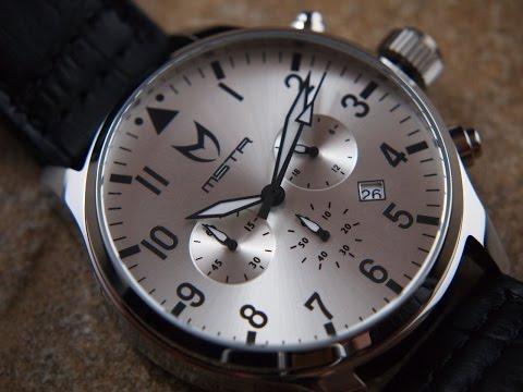 Meister MSTR Aviator Watch Review