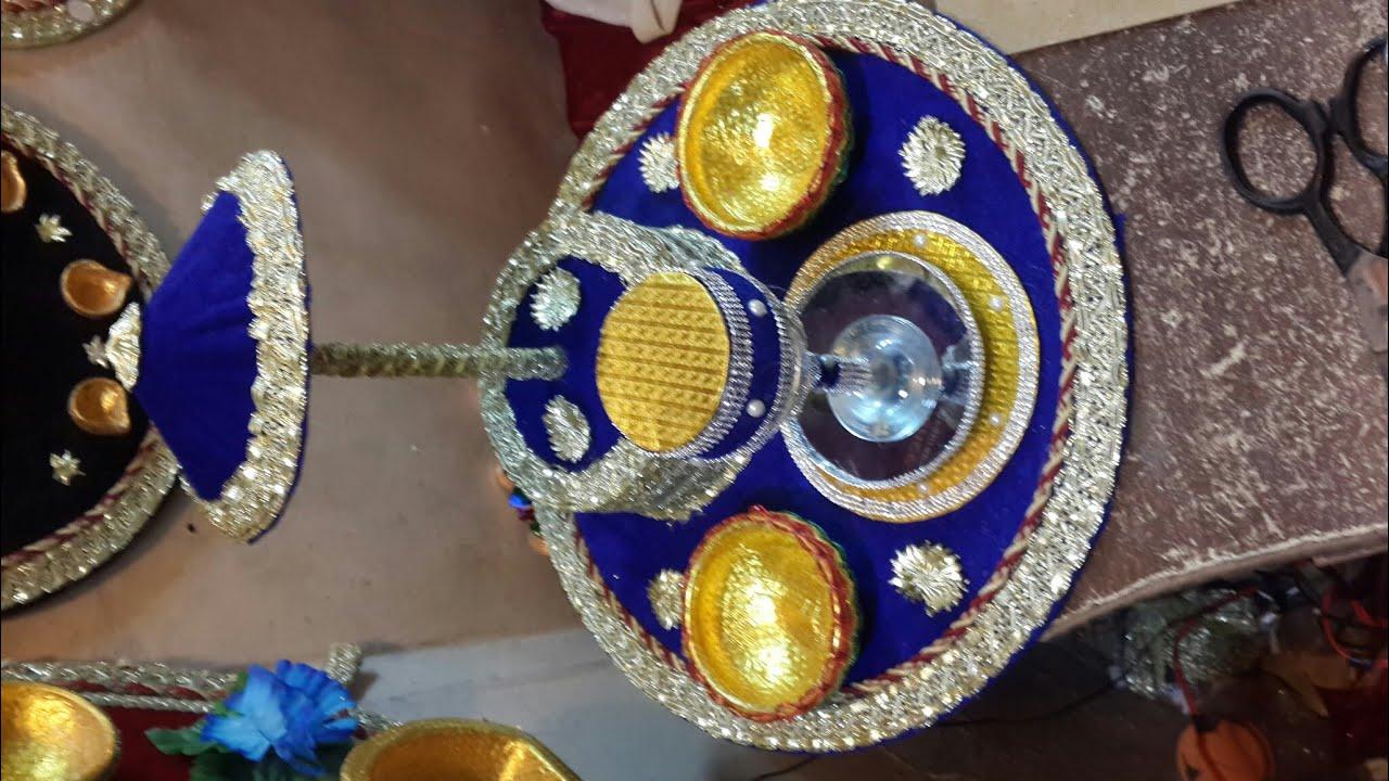 Diy Mehndi Plates : Glass new design mehndi plate youtube