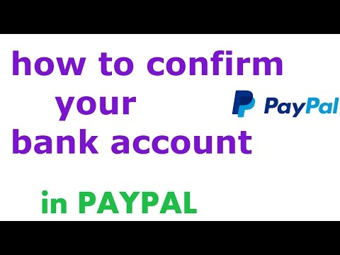 How To Verify Bank Account In Paypal Account Verification Paypal