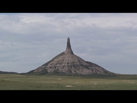 Chimney Rock NHS & Scotts Bluff NM Nebraska (Oregon Trail landmarks)