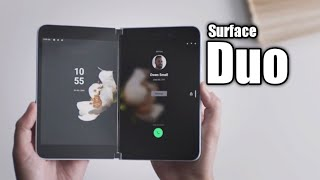 Microsoft Surface Duo - Hands on Look | Microsoft Folding Android Phone