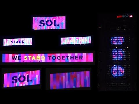 A Symphony of Lights V5.0 Hong Kong Island Media Wall 2018-03