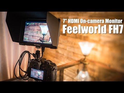 感動レベルでオススメ!!   動画撮影用外部モニターでカメラ選びが変わるかも!? 4K対応7インチモニター「Feelworld FH7」 - YouTube