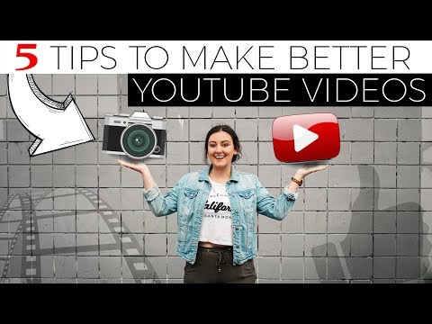 How to Film BETTER VIDEOS for YOUTUBE Beginners
