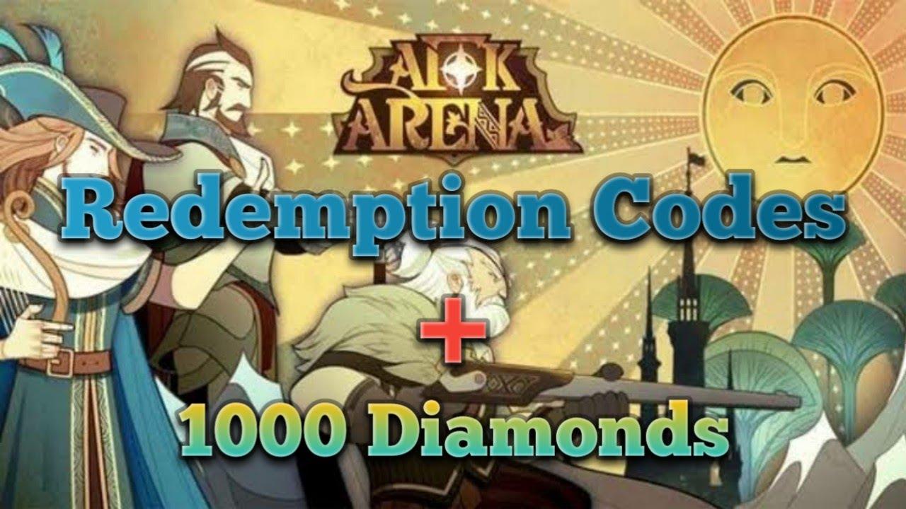 AFK Arena Redemption Codes + 1000 DIAMONDS!!!