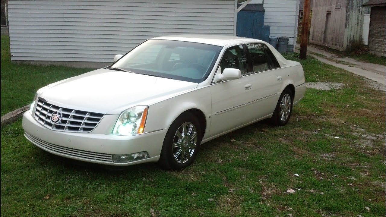 Logo lights installed on 08 Cadillac DTS - YouTube