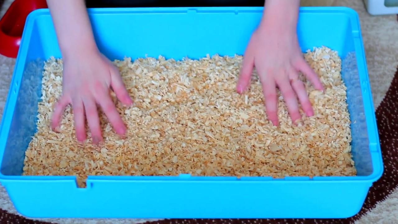 Дюны для хомяков своими руками