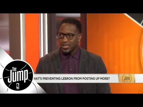 Tracy McGrady: 'I want 1 game where LeBron has 85% of his offense on the post' | The Jump | ESPN