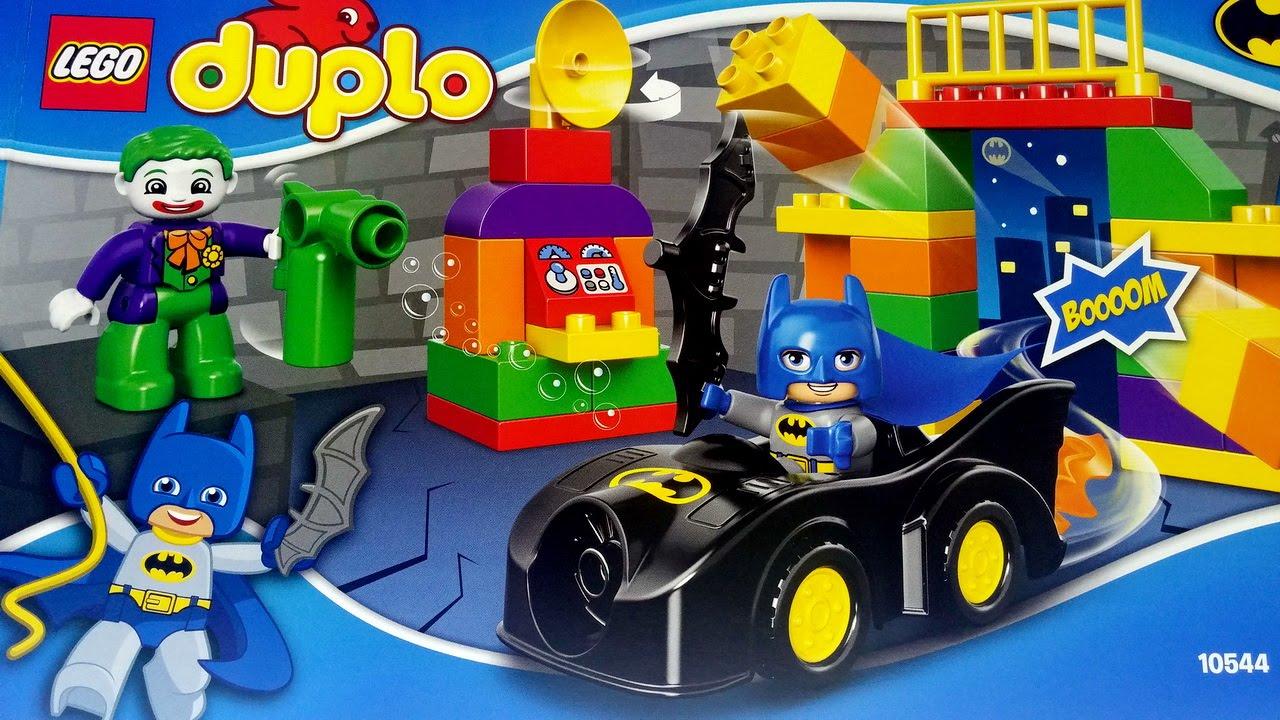 Lego Duplo Super Heroes 10544 The Joker Challenge With