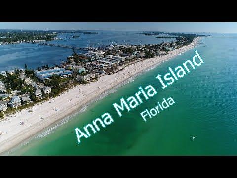 Anna Maria Island Aerial Tour In 4k