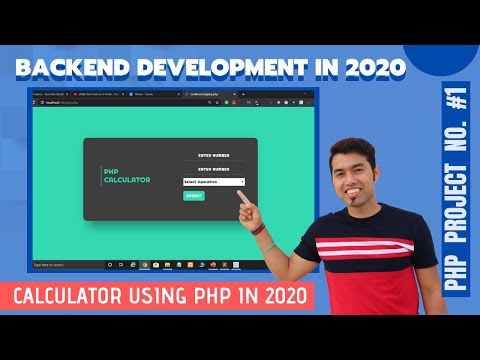 PHP Project #1: Build Simple Calculator Using PHP In Hindi In 2020 #29