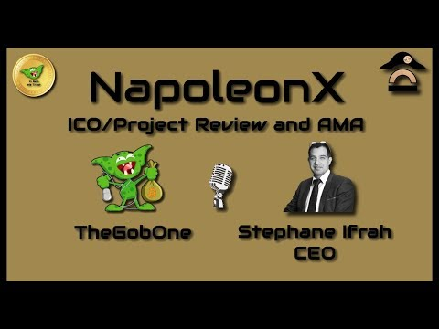 Napoleon X - ICO/Project Review and AMA with the Stephane Ifrah!