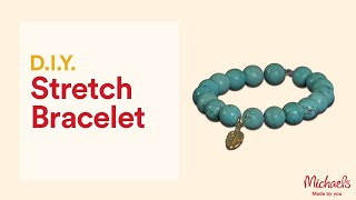 How to Make a Stretch Cord Bracelet   Jewelry & Accessory Ideas   Michaels