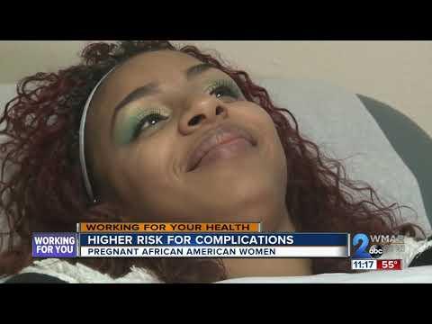 Pregnancy complications higher in African-American women