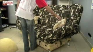 Механизм Клик-Кляк - диван Арджента(Механизм трансформации Клик-Кляк. Если Вы стильный и энергичный, то такой диван именно для Вас! На видео..., 2011-06-13T02:31:52.000Z)