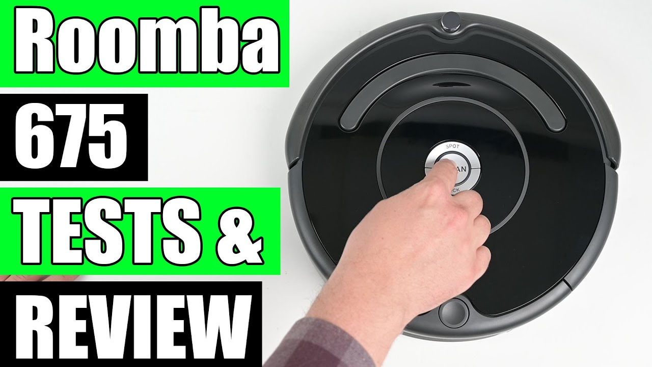 Roomba 675 Review The Best Budget Robot Vacuum For Carpets Youtube