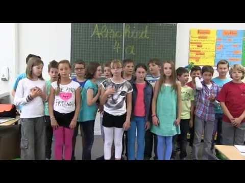 Abschiedslied der Klasse 4a - 2014