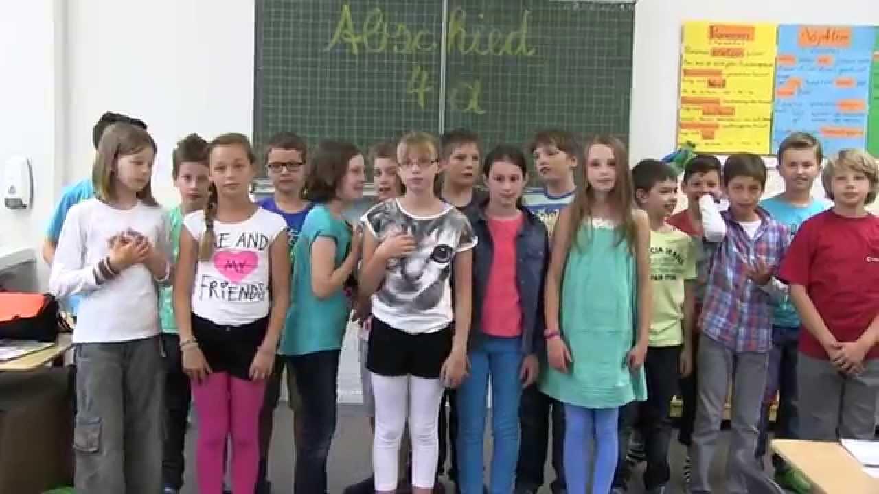 Abschiedslied Grundschule Ein Hoch Auf Uns