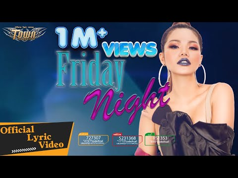 Friday Night - Meas Soksophea【Official Lyric Video】