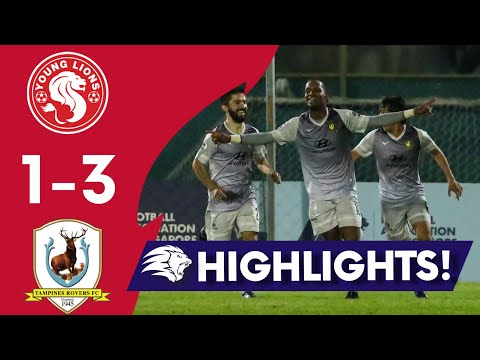 Young Lions Tampines Goals And Highlights