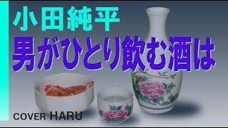 「男がひとり飲む酒は」小田純平 cover HARU