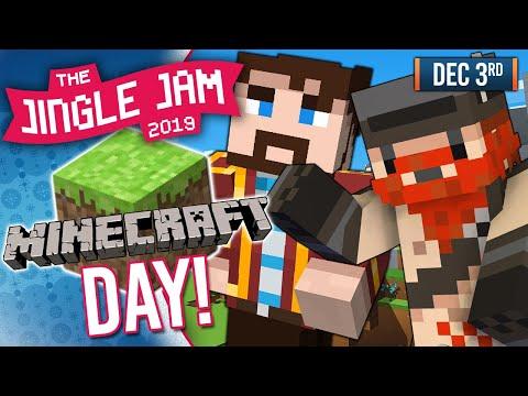 JINGLE JAM 2019 DAY 3! - HARDCORE MINECRAFT DAY! - 03/12/19