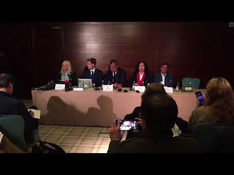 Detained in Dubai: Latifa Al Maktoum Press Conference April 12, 2018