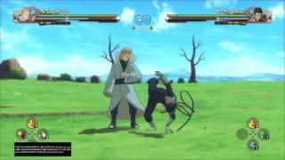NARUTO SHIPPUDEN: Ultimate Ninja STORM 4 - 2nd Mizukage VS 3rd Hokage Hiruzen (1st time play)
