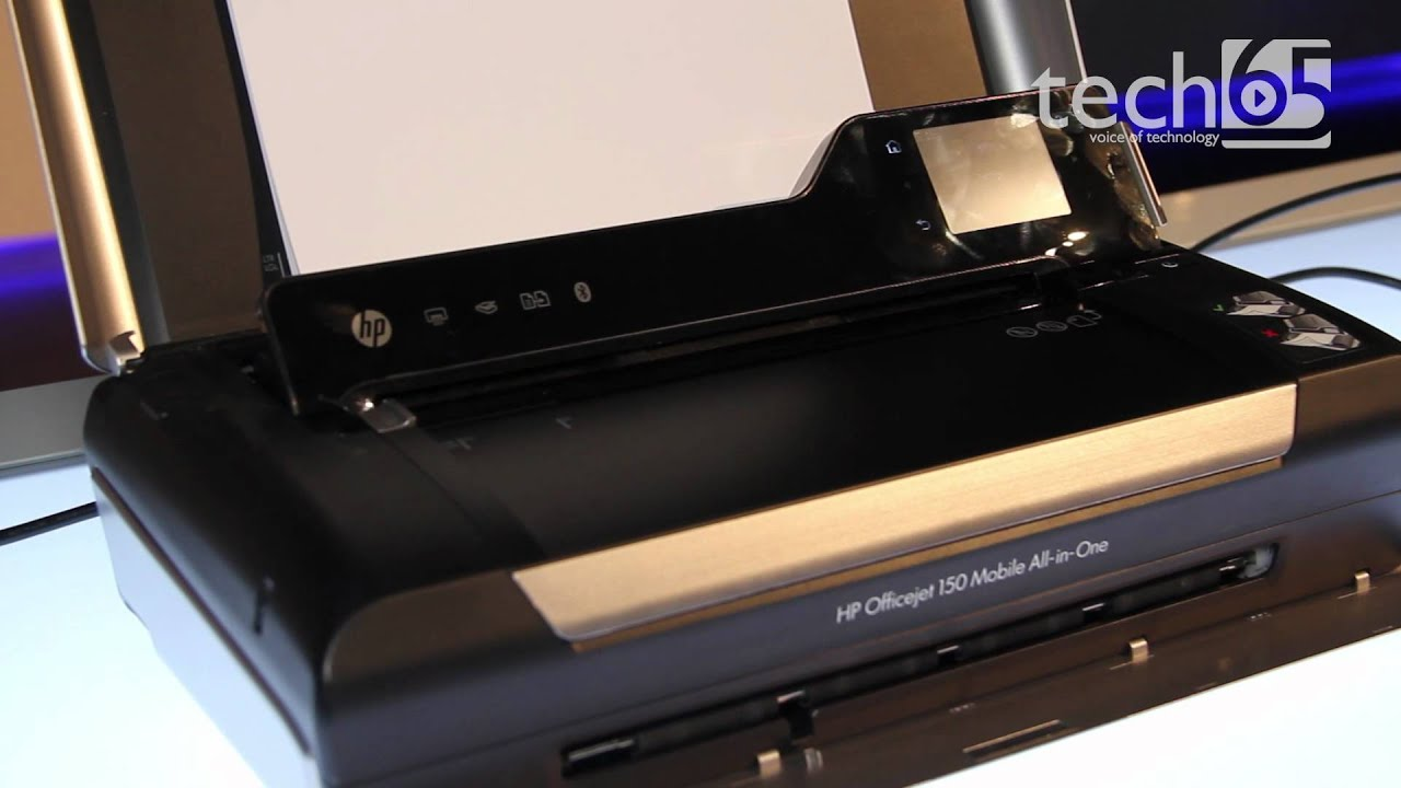 First Looks Hp Officejet 150 Mobile All In One Printer And Scanner Youtube