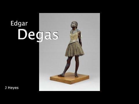Degas ballet dancer - music by J Heyes2017