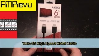 Vizio 6ft High Speed HDMI Cable | UHD 4K 3D Dolby Digital DTS Home Theater