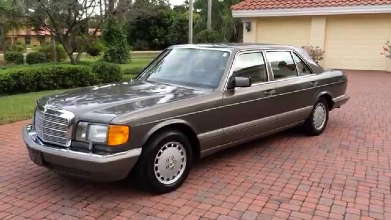 Sold 1987 mercedes benz 560sel w126 for sale by auto haus of naples autohausfl com youtube