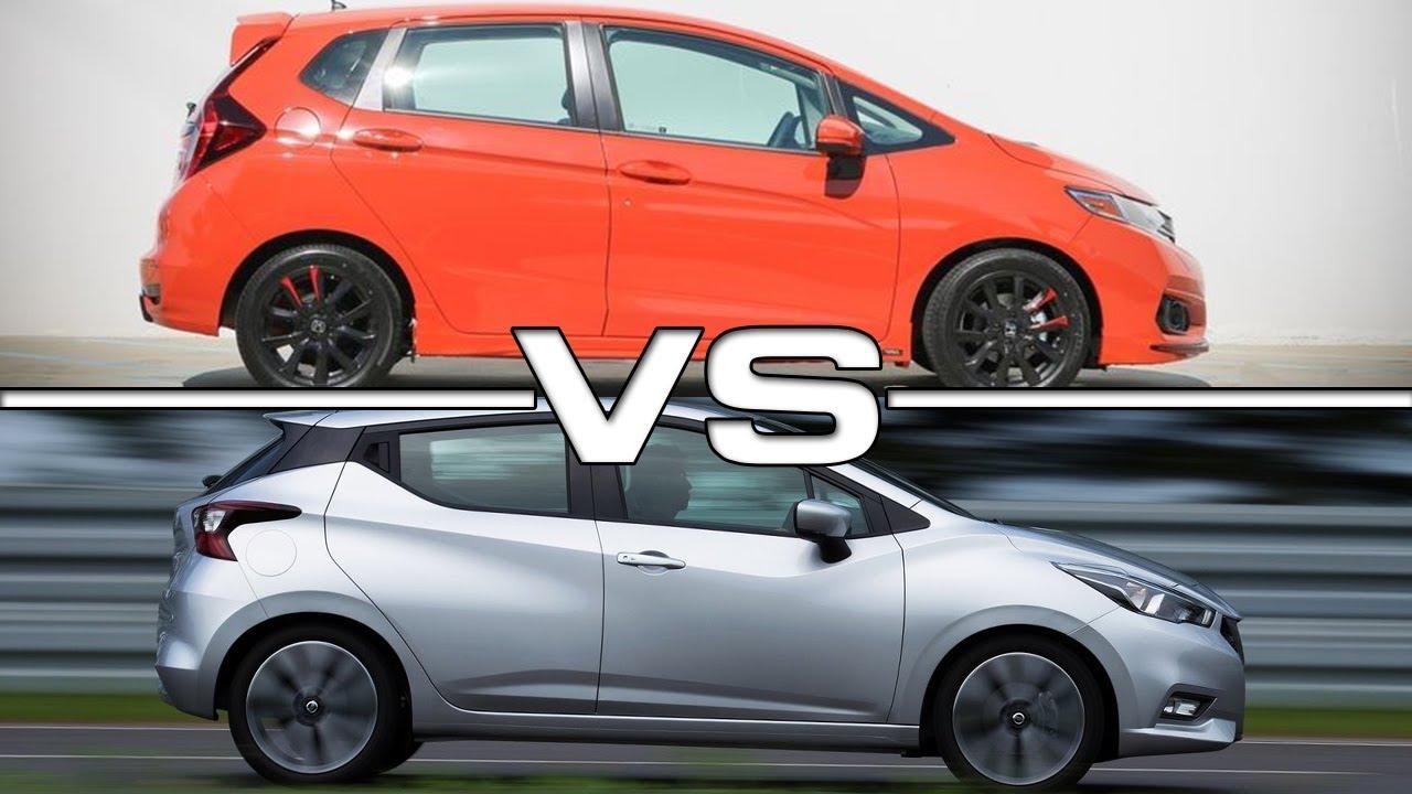2018 Honda Fit Vs 2017 Nissan Micra