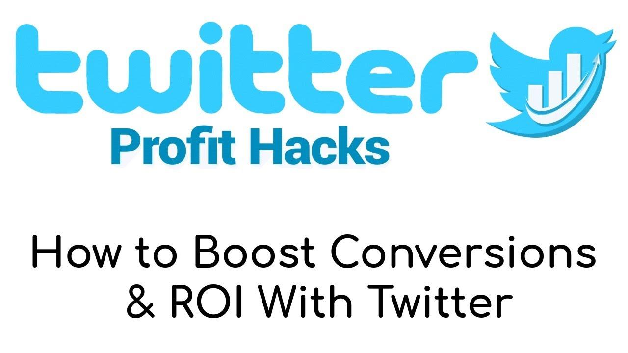 Twitter Profit Hacks PLR Review Bonus - Updated Training For Twitter Marketing