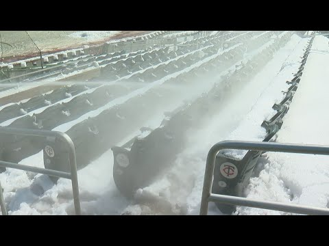 Target Field Workers Digging Out Of Snow Ahead Of Home Opener
