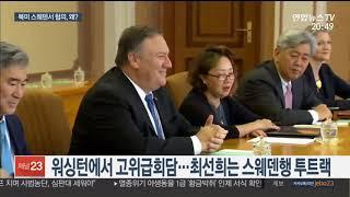 워싱턴ㆍ스웨덴 투트랙 북미대화…이유는 기싸움? / 연합뉴스TV (YonhapnewsTV)