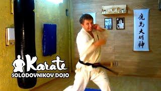 Уроки каратэ кекусинкай / Боковой удар рукой / kagi tsuki / kyokushin karate / бокс / муай тай /MMA
