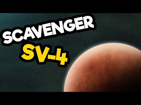 Scavenger SV-4 Gameplay Impressions - Space Scavenging Survival Sim!