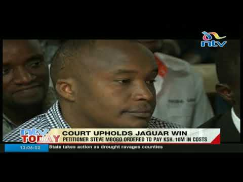 Court upholds Jaguar's win with petitioner ordered to pay Ksh.10 million in costs