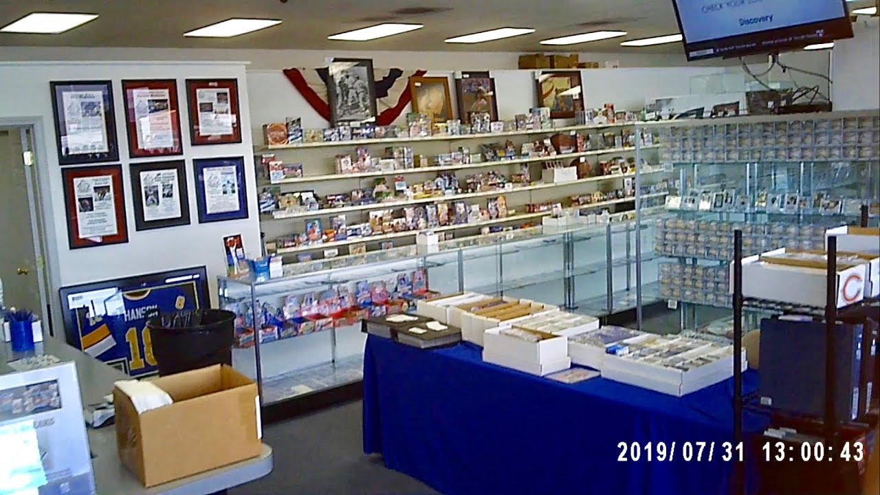 Visiting The Baseball Card Exchange Card Shop