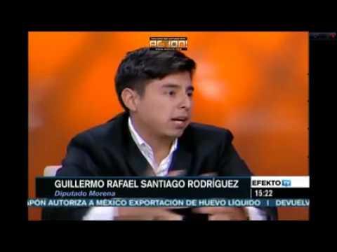 El Diputado mas Joven es de Morena Guillermo Santiago por Chiapas