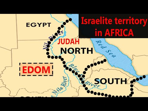 Biblical Israel's Georgraphical Borders In AFRICA