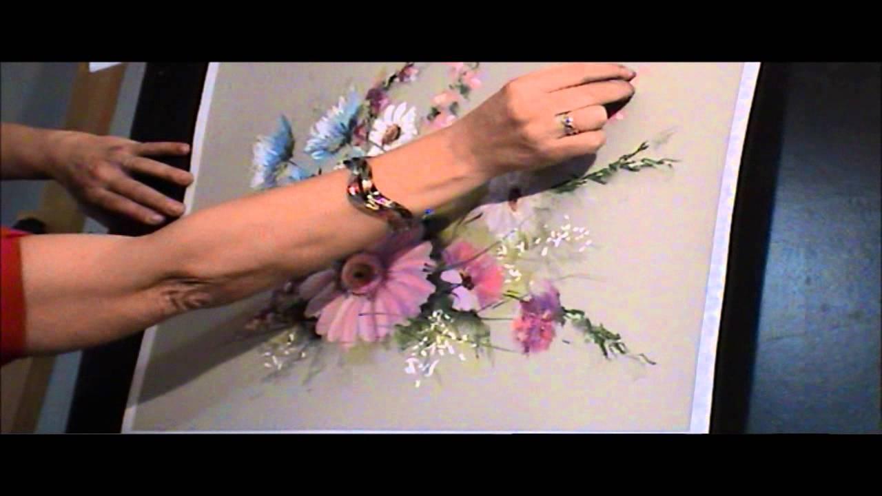 d monstration de fleurs au pastel sec par catherine. Black Bedroom Furniture Sets. Home Design Ideas