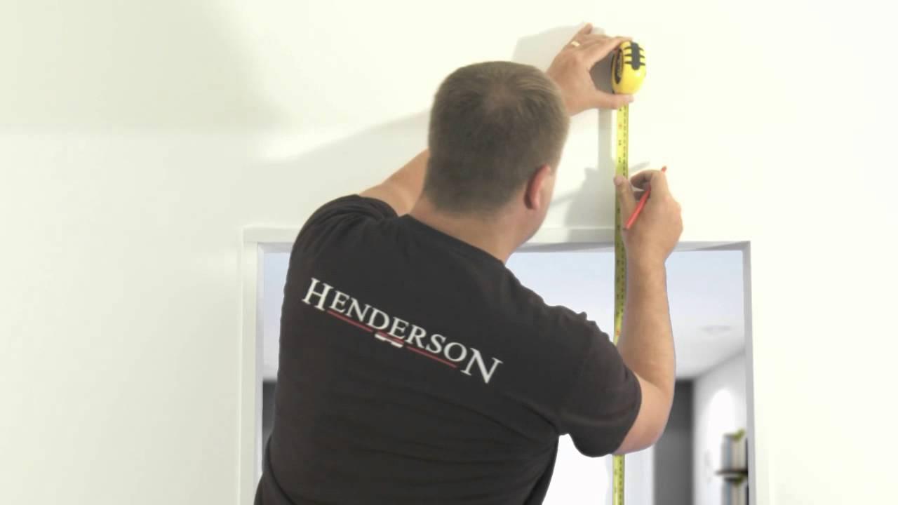 How To Install A Sliding Door Phantom By P C Henderson Youtube